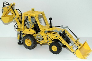 lego technic raupenbagger umbau volvo concept wheel. Black Bedroom Furniture Sets. Home Design Ideas